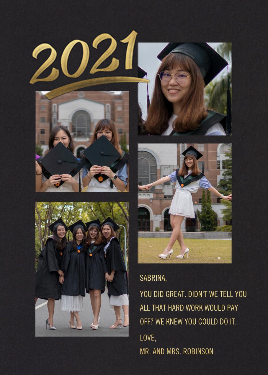 Scrapbooked - Paperless Post - Graduation cards