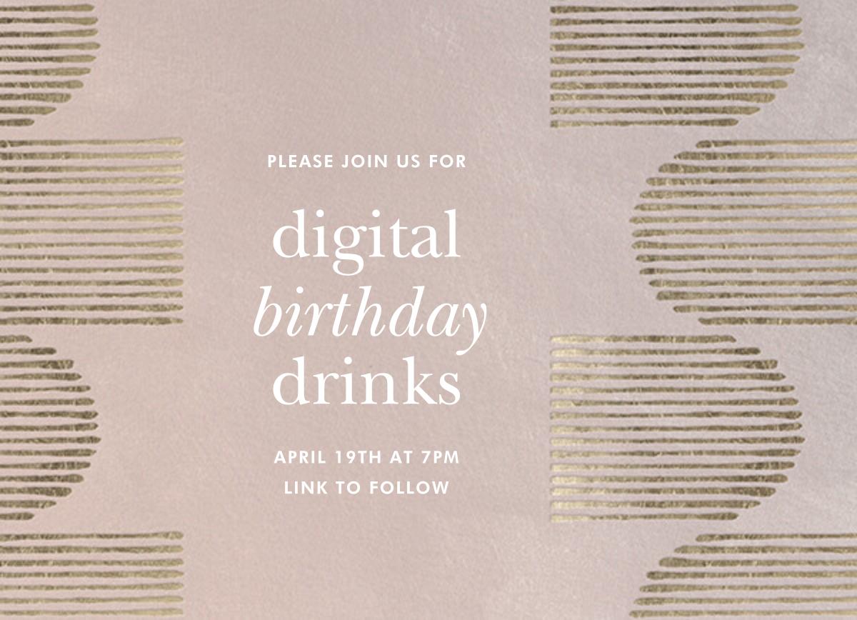 Inlay - Antique Pink - Kelly Wearstler - Adult birthday