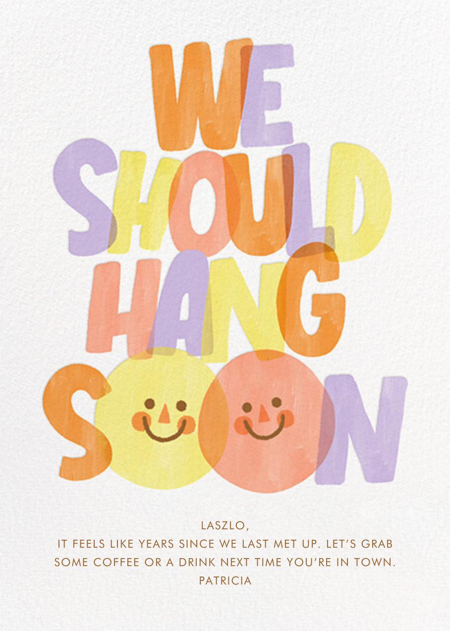 Hang Soon - Paperless Post