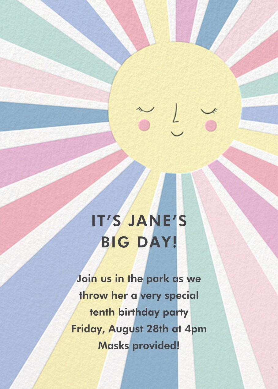 Sunny Party - Meri Meri - Kids' birthday