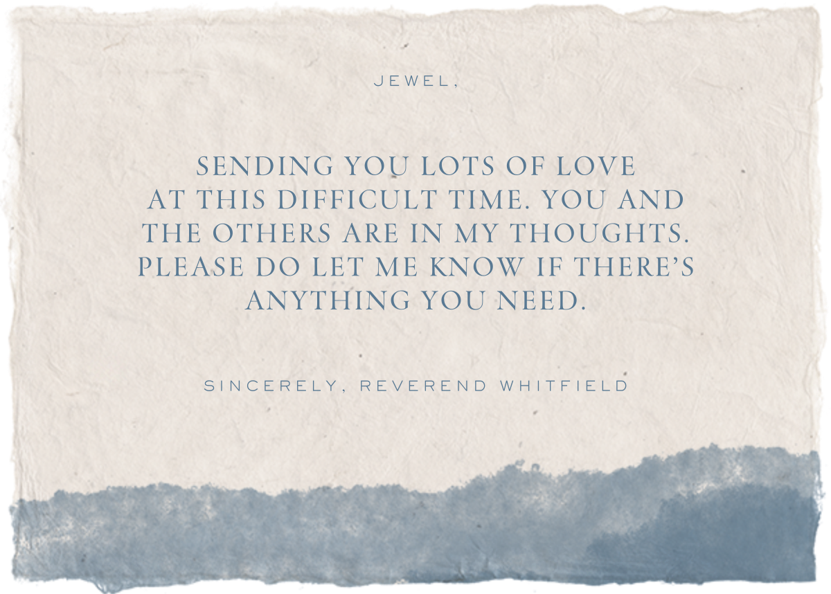 Deep Sympathy - Paperless Post - Sympathy - card back