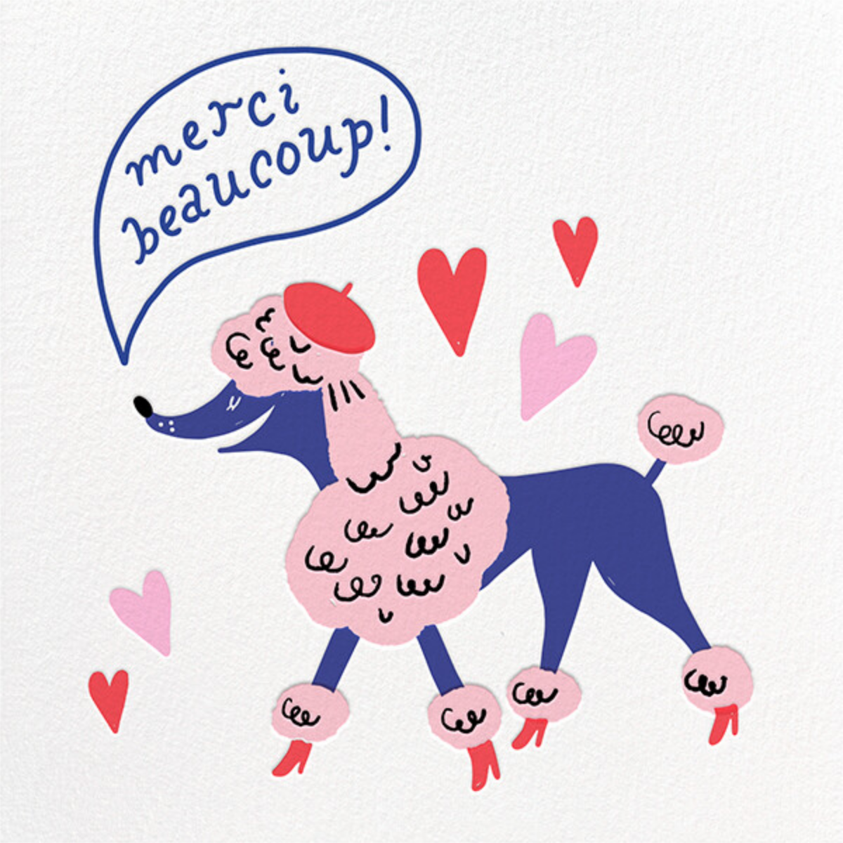 Puppy Beret - Hello!Lucky - Thank you