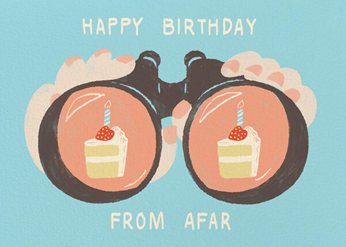 Binocular Birthday - Fair - Paperless Post - Birthday