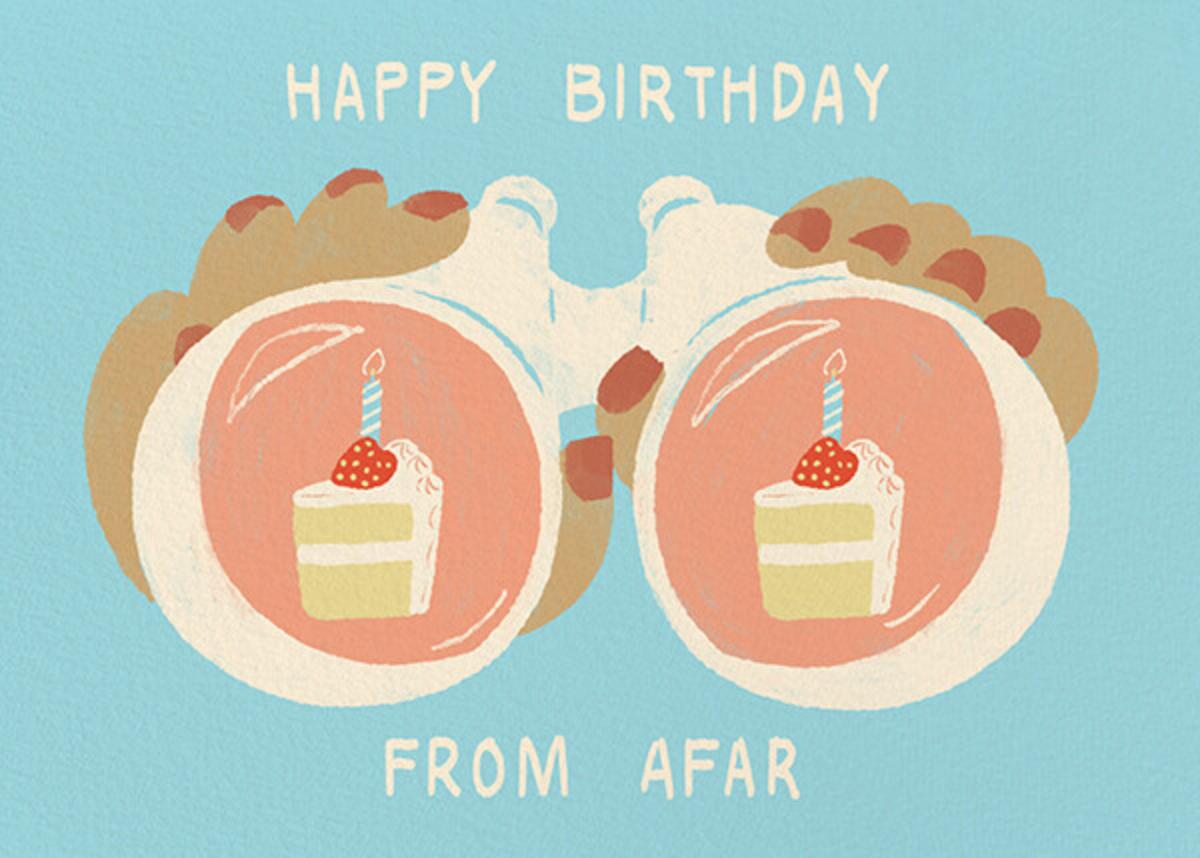 Binocular Birthday - Medium - Paperless Post - Birthday