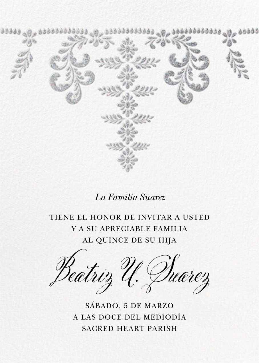 Ornate Occasion - White - Paperless Post