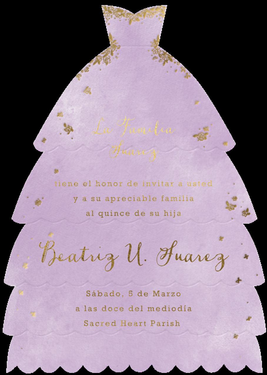 Hermoso Vestido - Lilac - Paperless Post