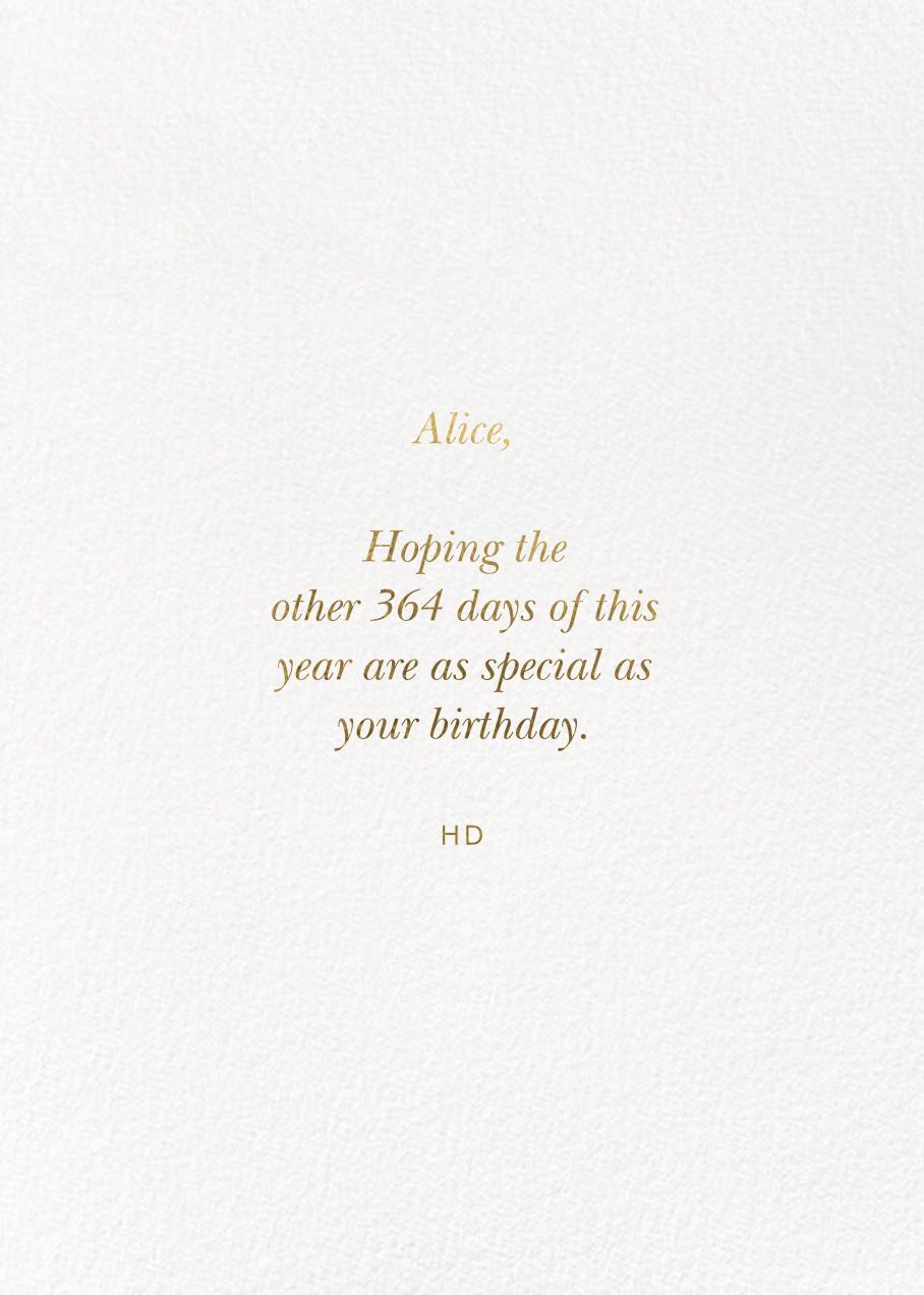 Ice Cream Birthday - Rifle Paper Co. - Back