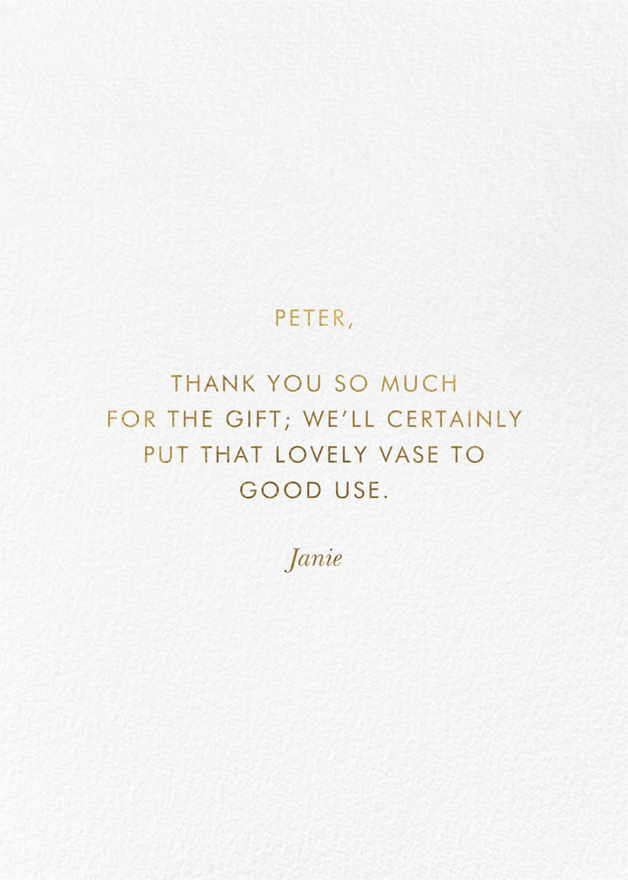 Marion Thank You - Rifle Paper Co. - Back