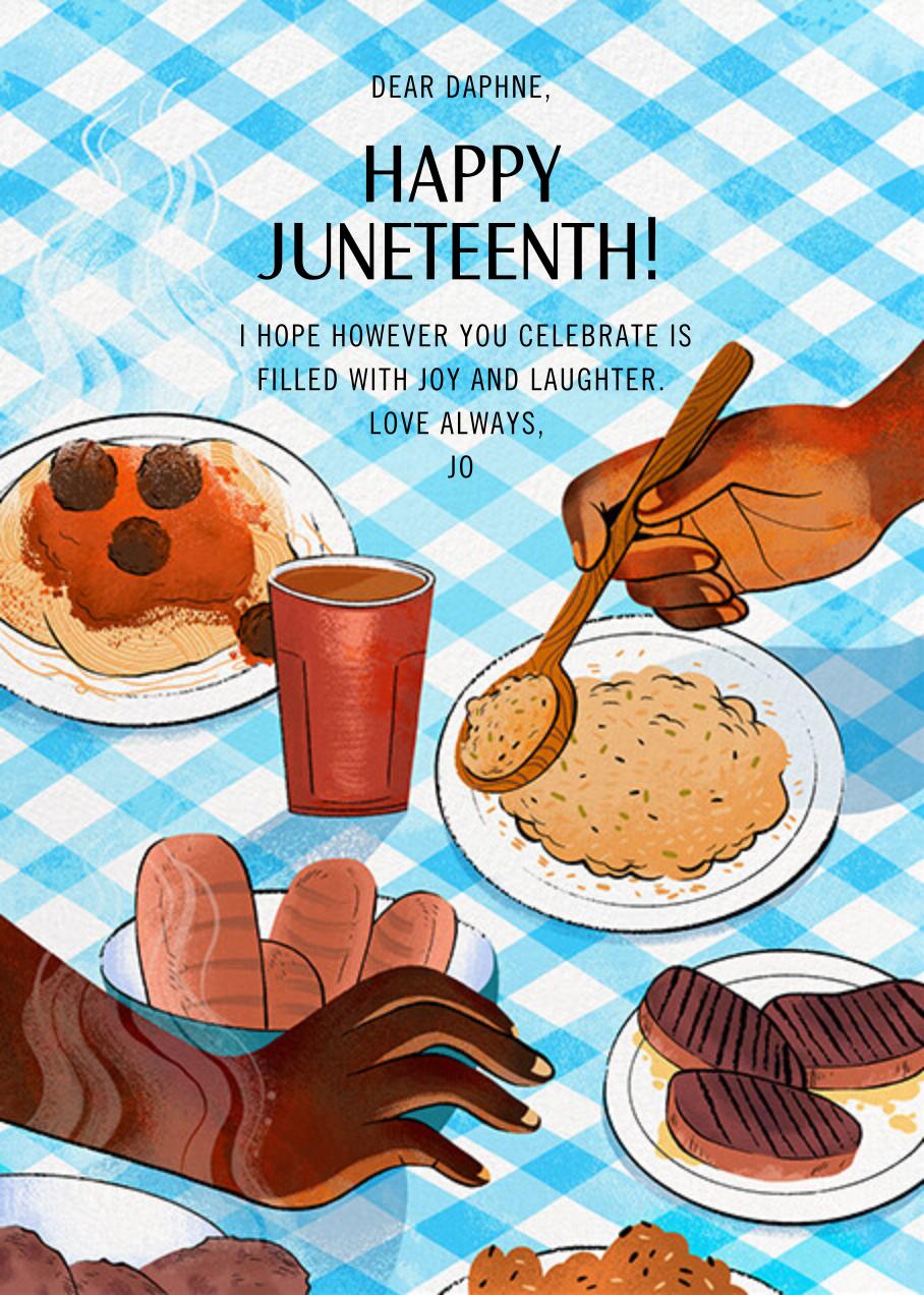 Juneteenth Table - Paperless Post - Juneteenth