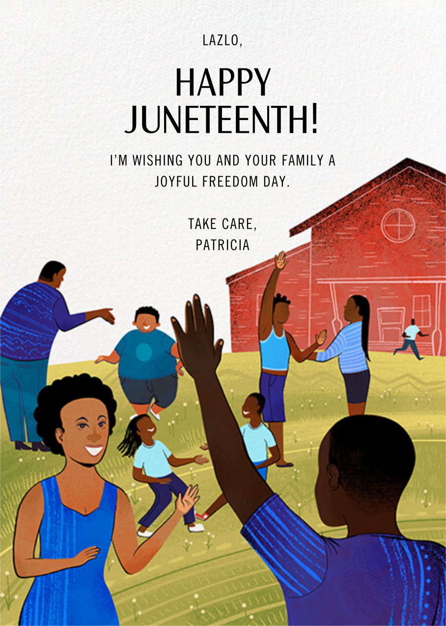 Together - Paperless Post - Juneteenth