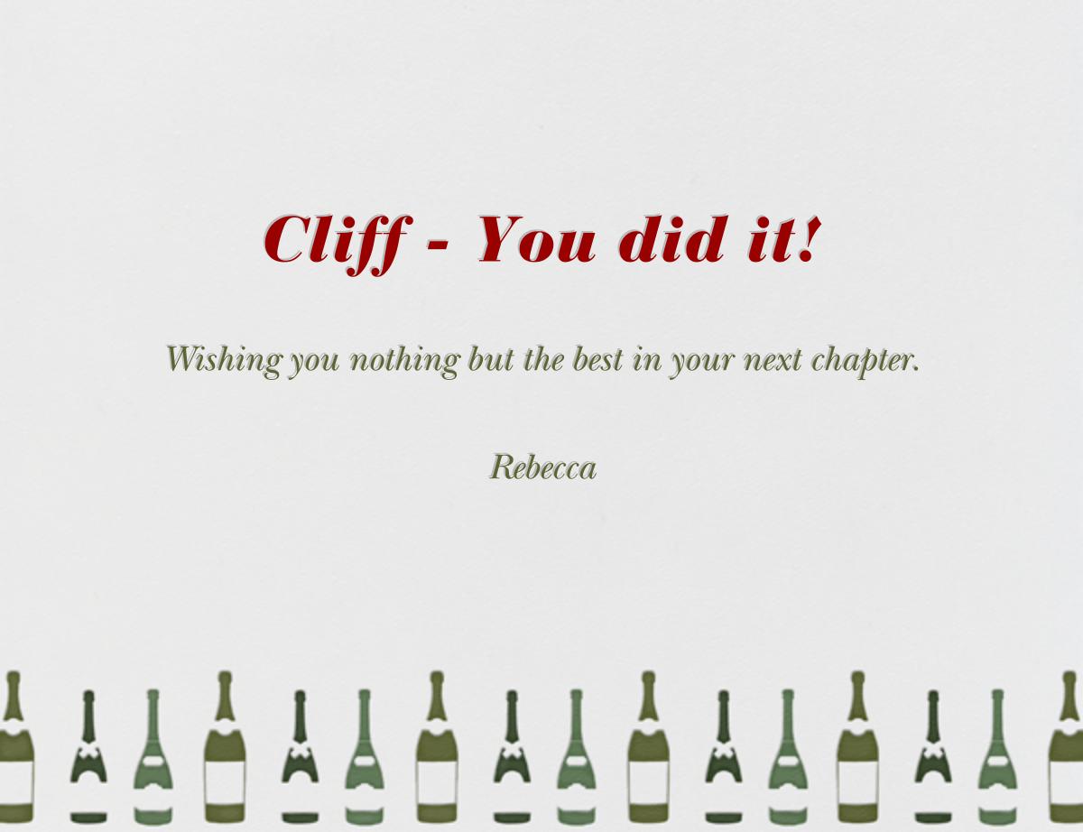 Congratulations - Paperless Post - Back