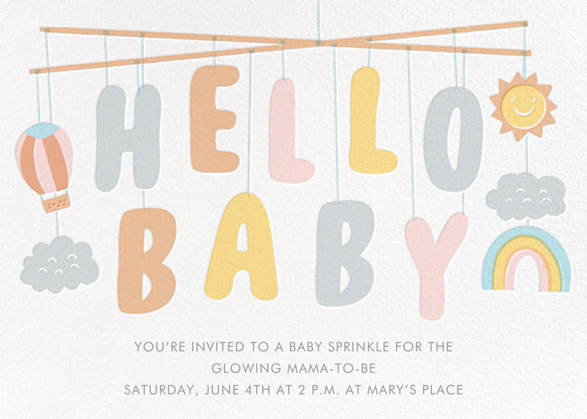 Baby Mobile - Hello!Lucky