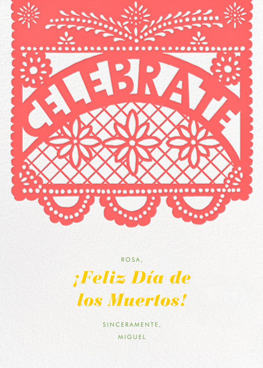 Papel Picado Celebration - Paperless Post