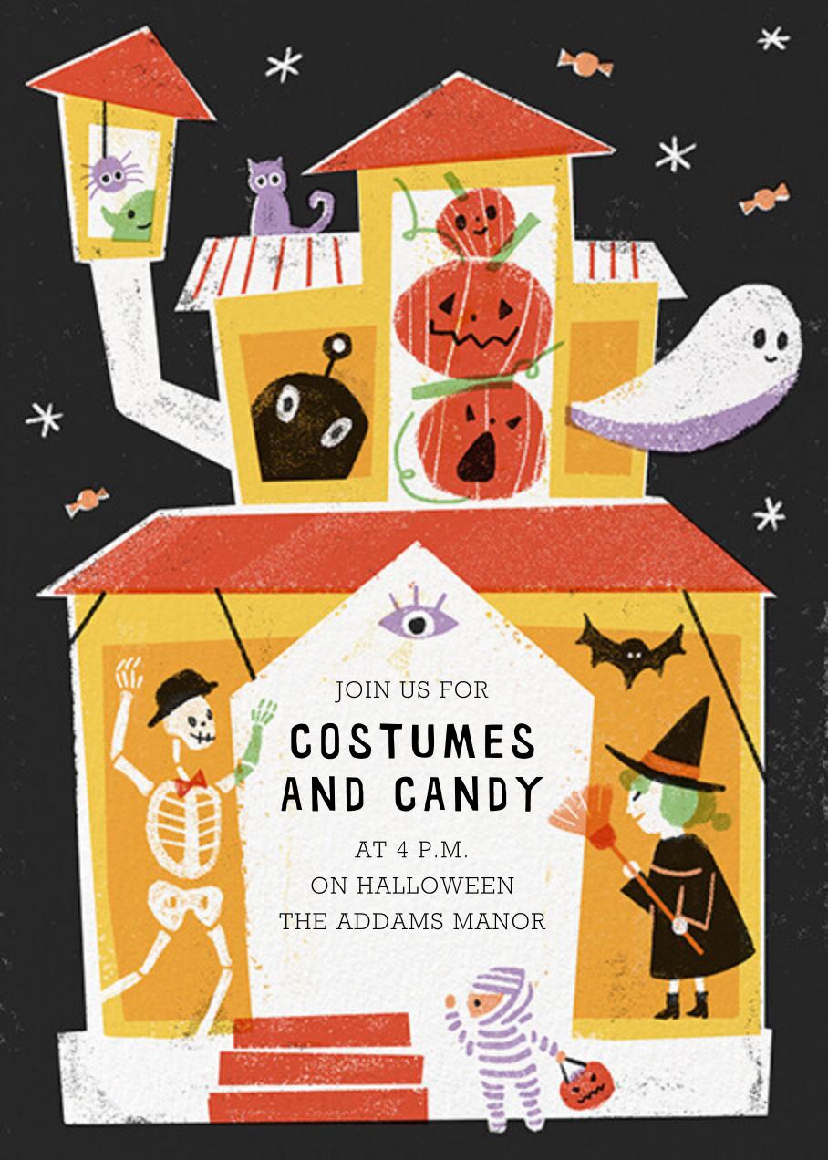 Halloween House - Paperless Post