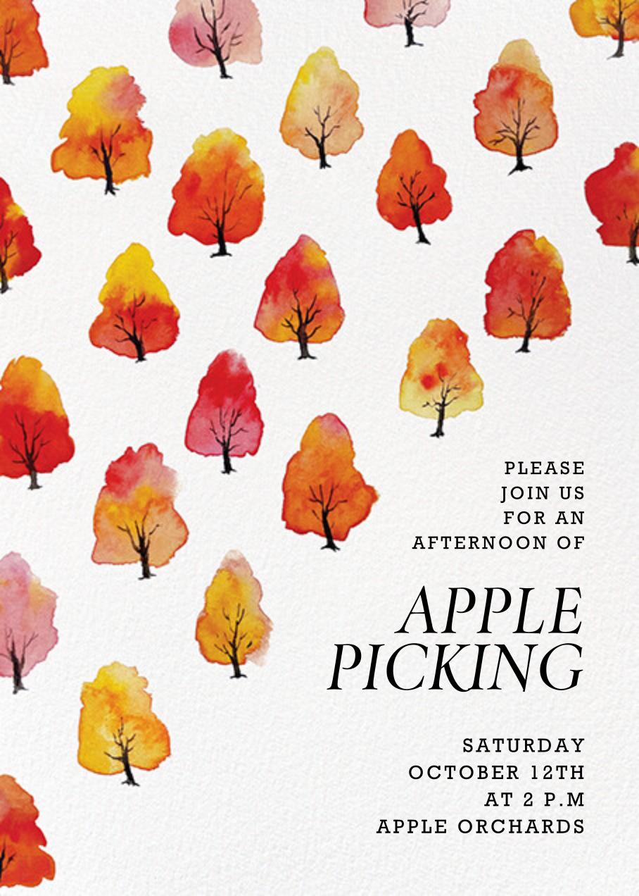 Wild Apples - Paperless Post