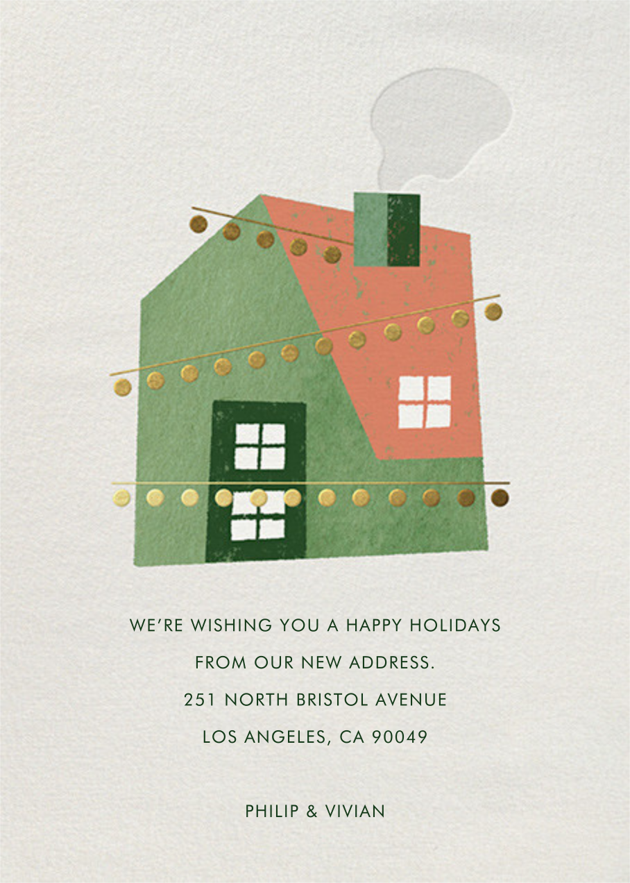Holiday House Party - Paperless Post