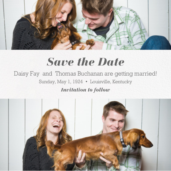Title Card - Ivory - Paperless Post - Save the date