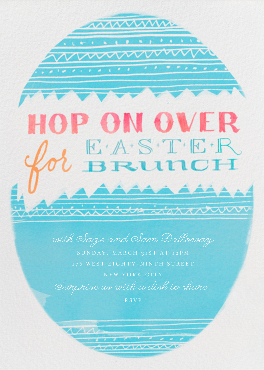 Hop on Over - Crate & Barrel - Easter