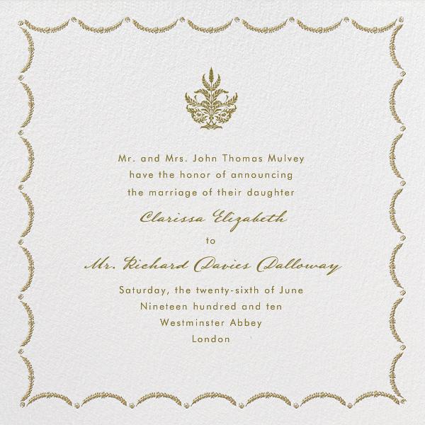 Garland - Sepia - Paperless Post - Wedding