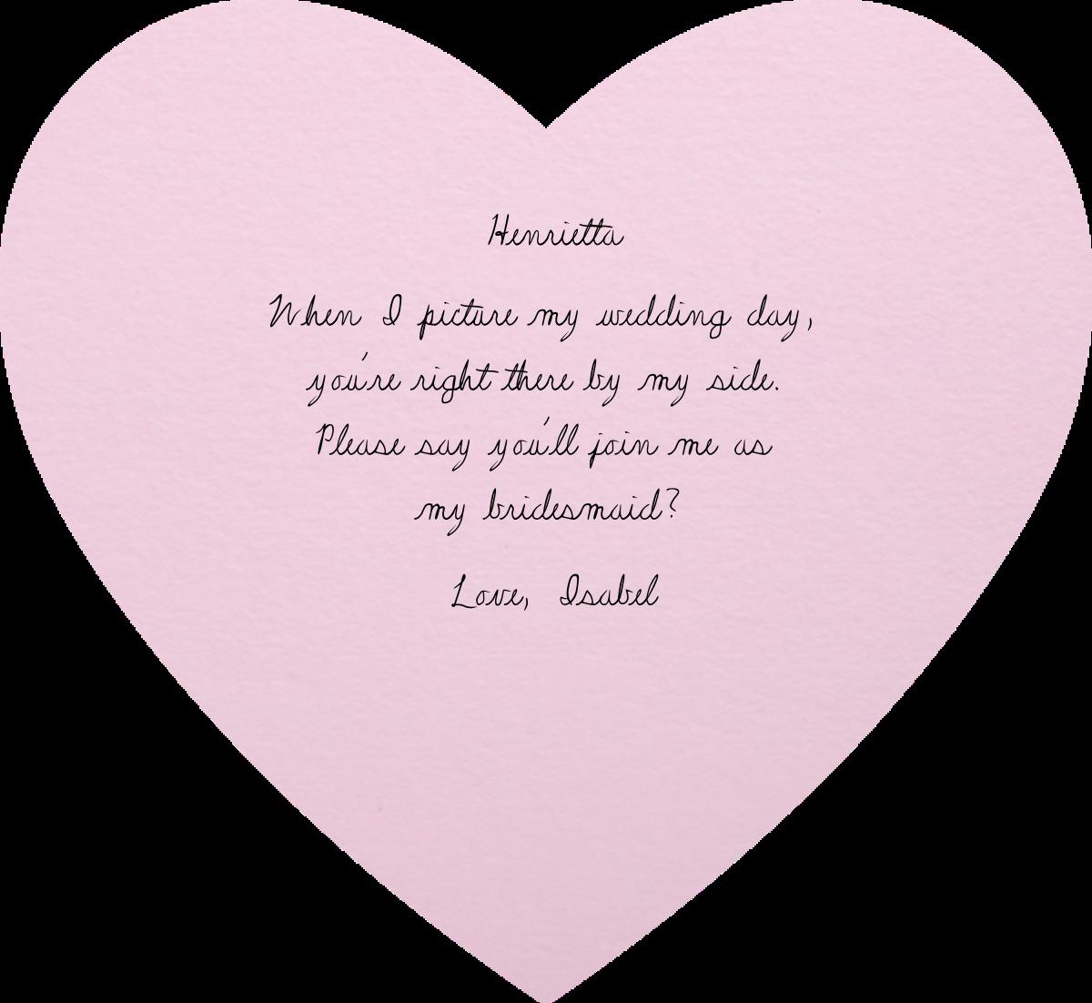 Full Bleed Heart (Pink) - Paperless Post - Back
