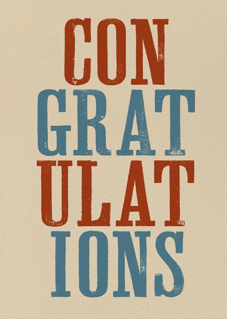 Congratulations Stack - Paperless Post - Congratulations
