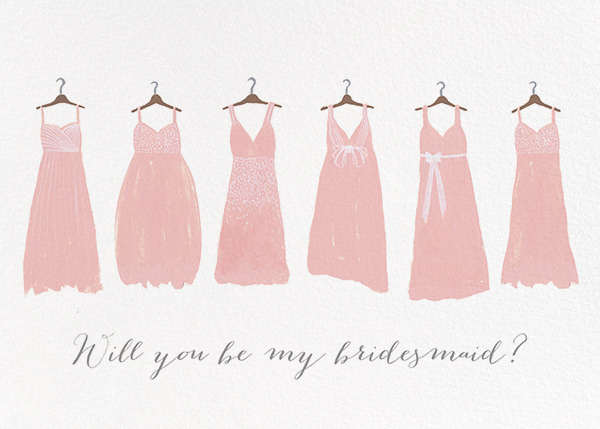 Be My Bridesmaid - Paperless Post - Wedding party requests