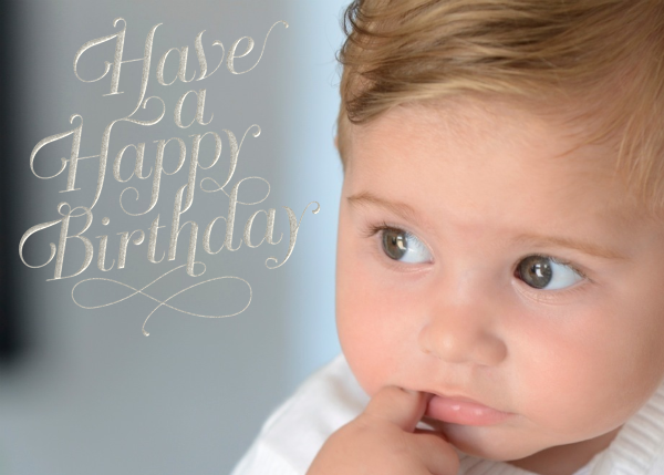 Have A Happy Birthday - silver - Paperless Post - Birthday