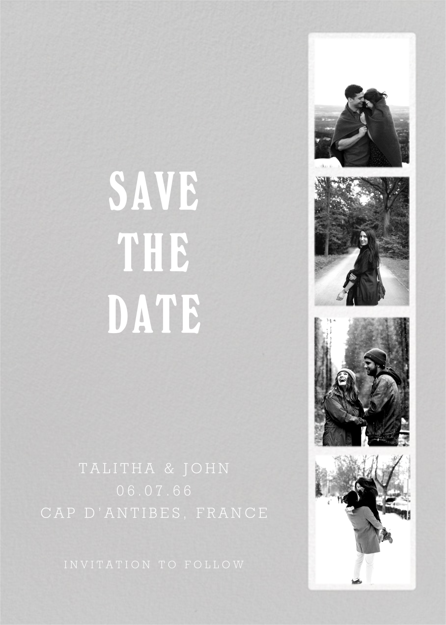 Photo Booth - Fog - Paperless Post - Save the date
