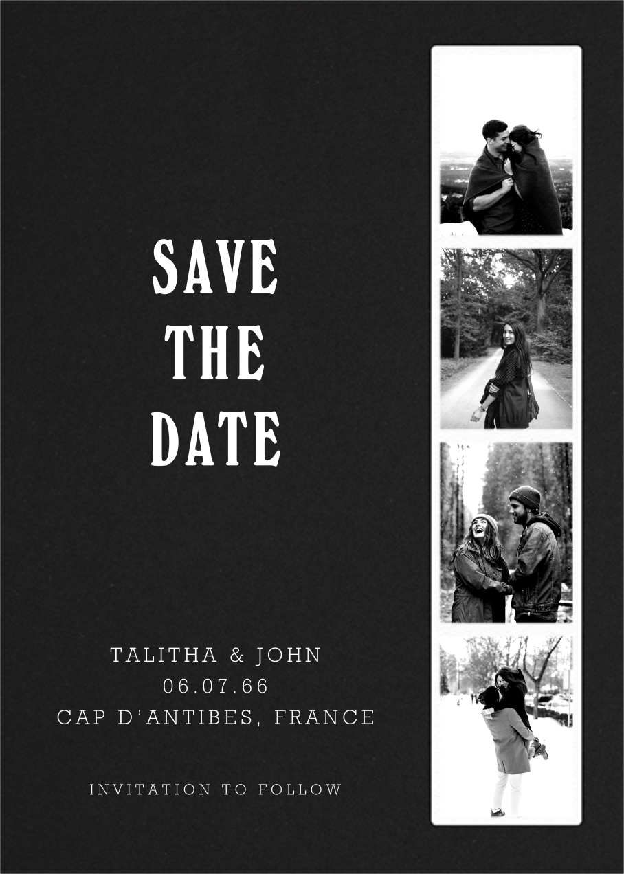 Photo Booth - Pitch - Paperless Post - Save the date