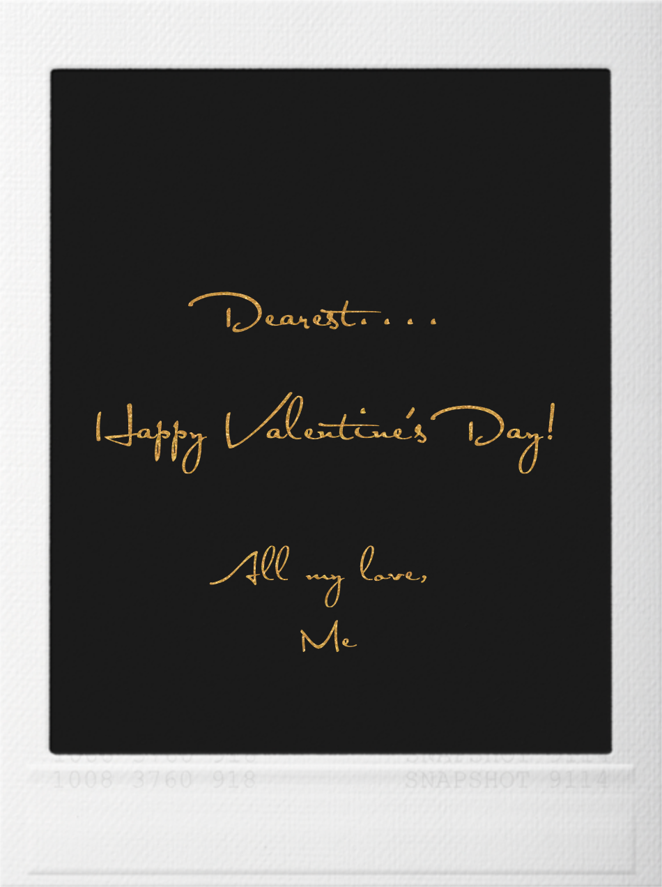 Snapshot - Gold Kiss - Paperless Post - Valentine's Day - card back