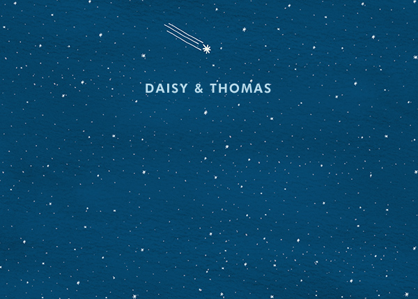 Constellations - Horizontal - Paperless Post - Personalized stationery