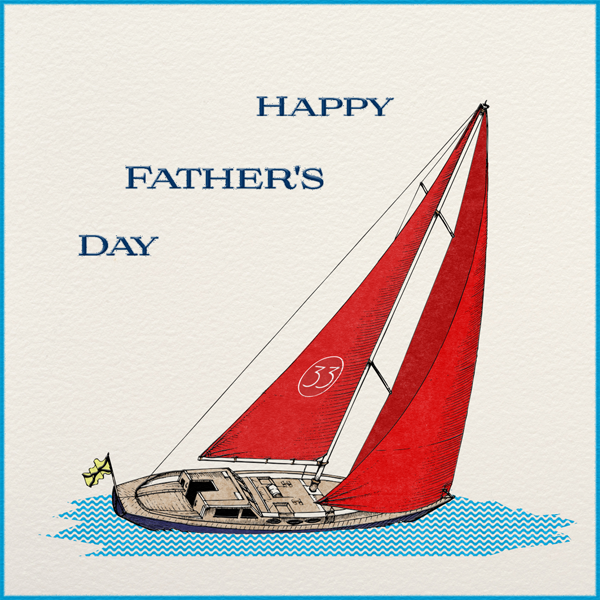 Boating - Paperless Post - Father's Day