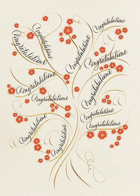Congratulations - Bernard Maisner - Graduation