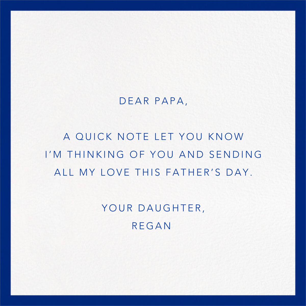 Grizzly Bear - Paperless Post - Father's Day - card back