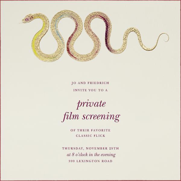 Hand Painted Snake - Yellow Blue - Bernard Maisner