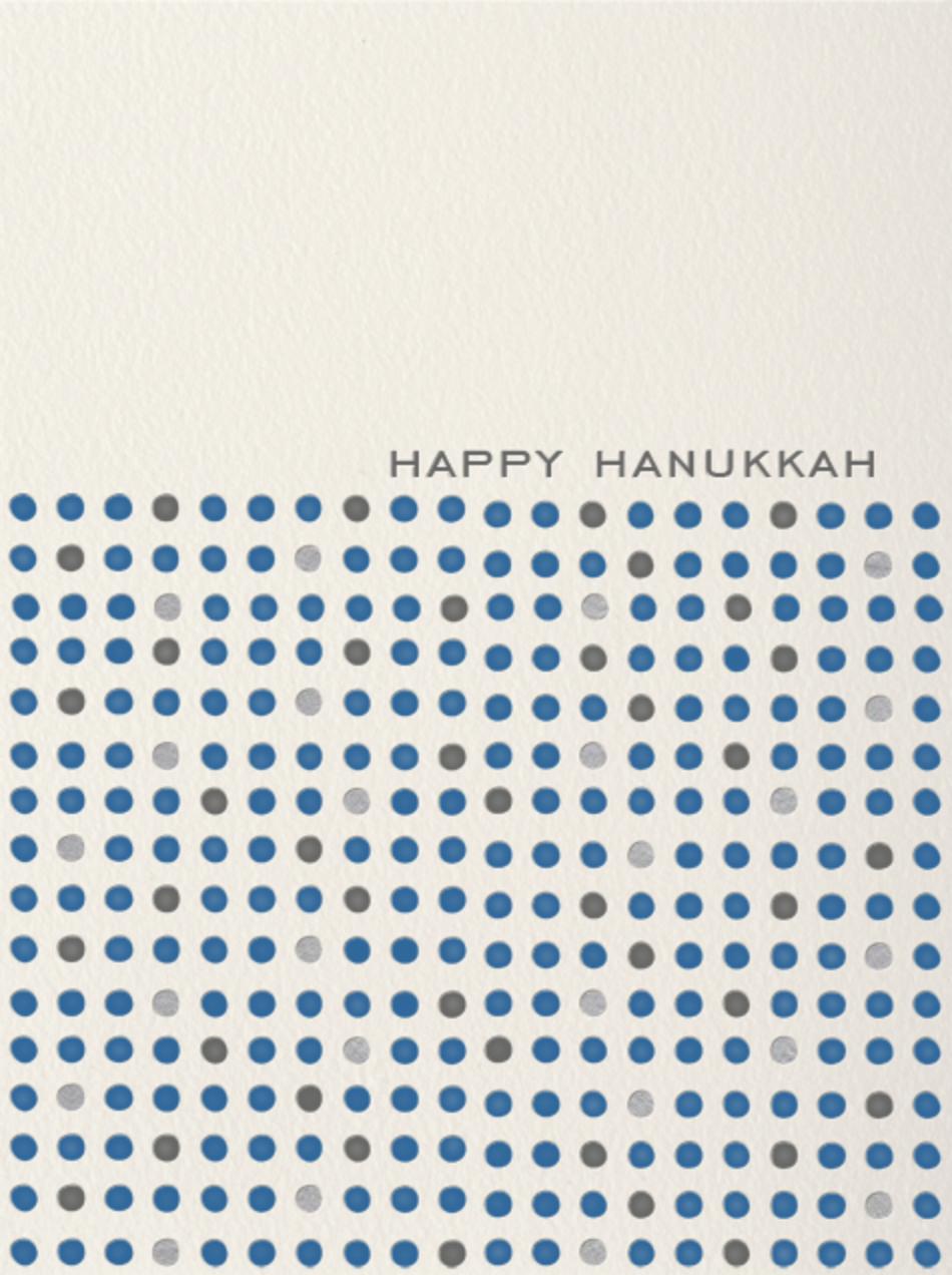 Hanukkah Dots - Paperless Post - Hanukkah