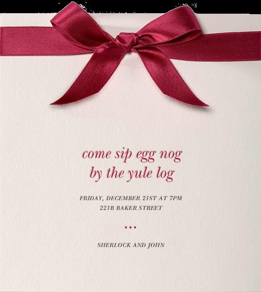 Moorish Silk - Paperless Post - Christmas party