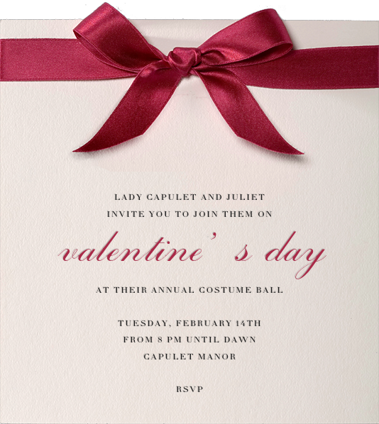 Moorish Silk - Paperless Post - Valentine's Day