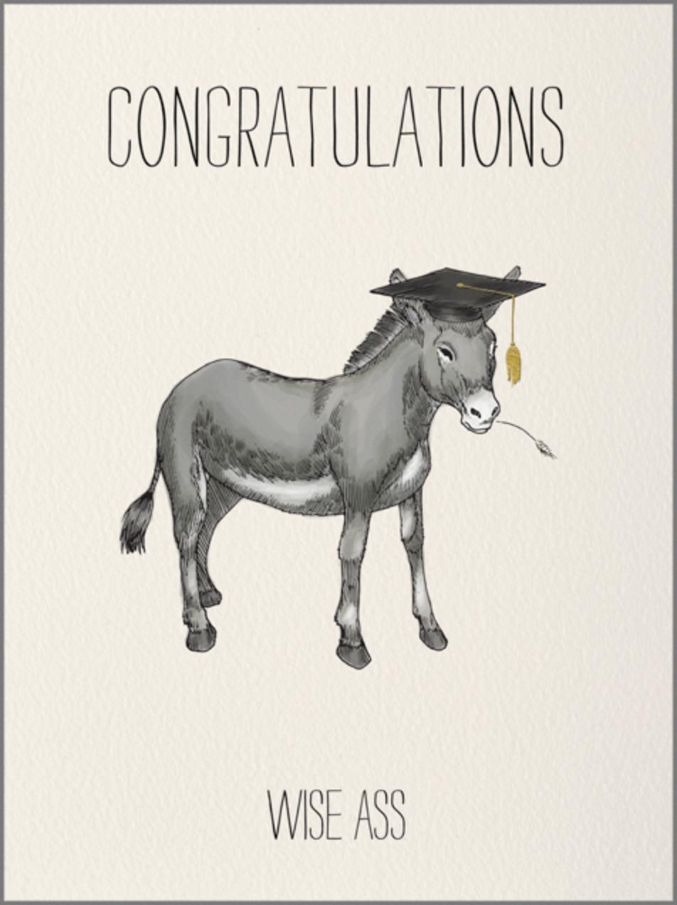 Wise Ass - Paperless Post - Graduation