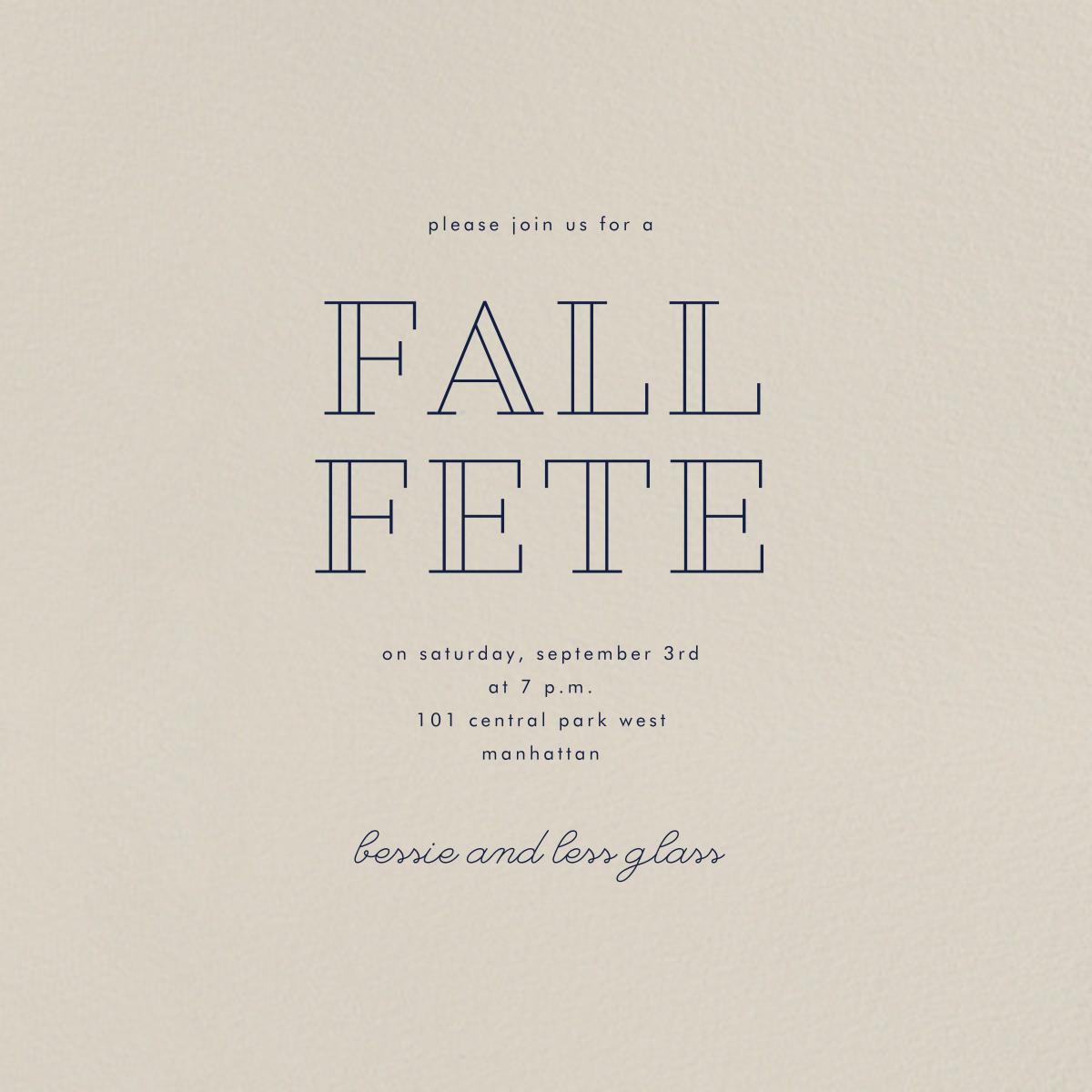 Santa Fe (Square) - Paperless Post