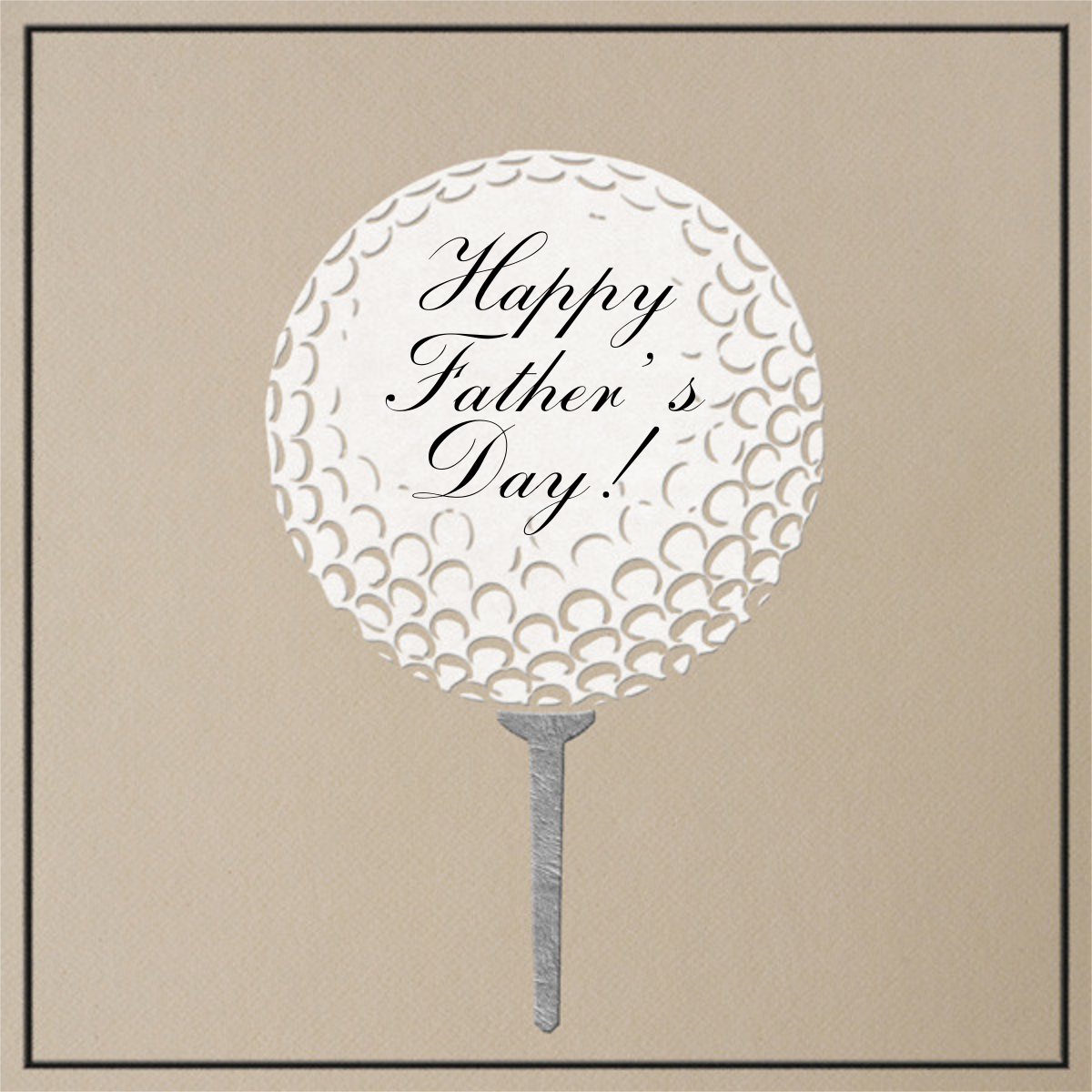 Golf Ball - Dune - Paperless Post - Father's Day