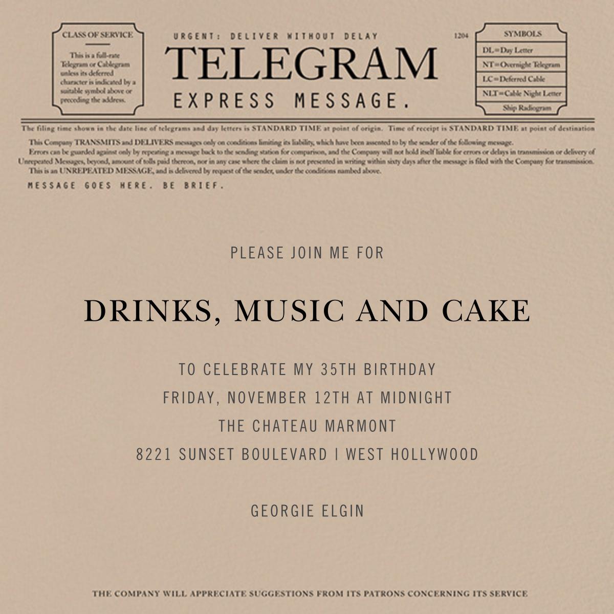 Telegram - Paperless Post