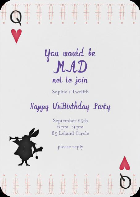 A Very Happy Unbirthday - Lipstick - Mr. Boddington's Studio - Kids' birthday