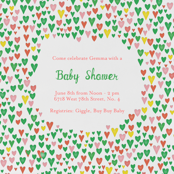 Baby Love - Lagoon - Mr. Boddington's Studio - Baby shower