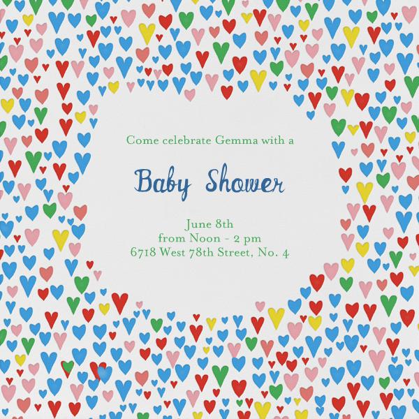 Baby Love - Primaries - Mr. Boddington's Studio - Baby shower