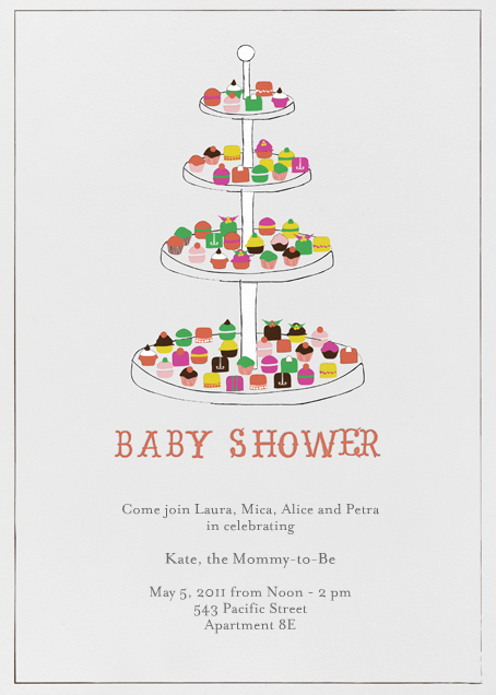 Everyone Loves Sweets - Baby - Mr. Boddington's Studio - Baby shower