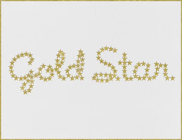Gold Star - Paperless Post - Congratulations