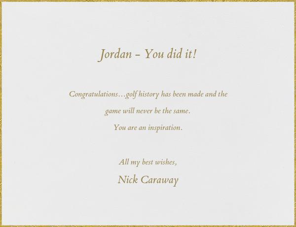 Gold Star - Paperless Post - Congratulations - card back