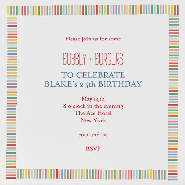Mini Berlin - Brights - Mr. Boddington's Studio - Adult birthday