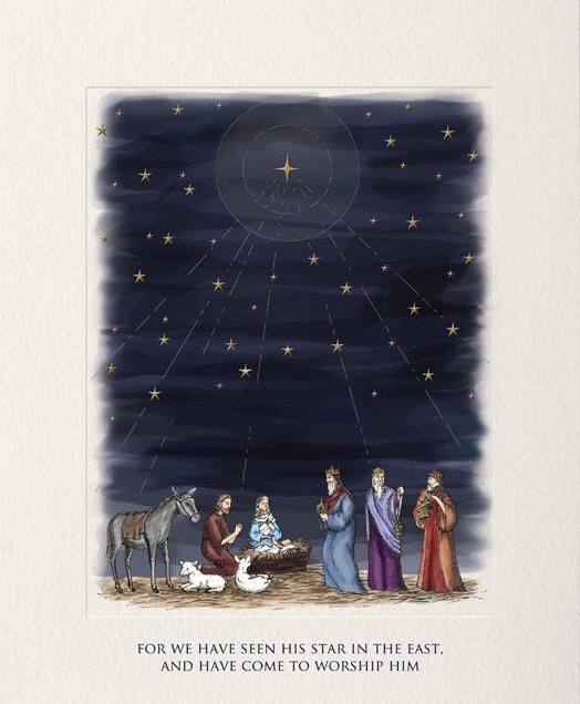 Nativity Scene - Paperless Post